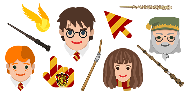 Harry Potter cursor collection