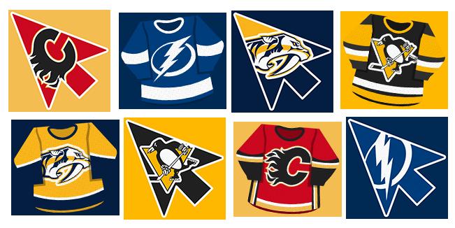 NHL Teams cursor collection
