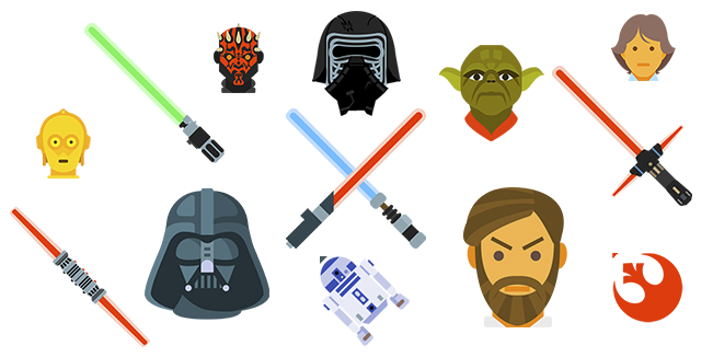 Star Wars cursor collection