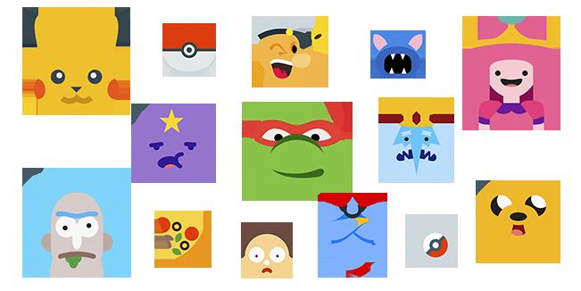Cartoon cursor collection