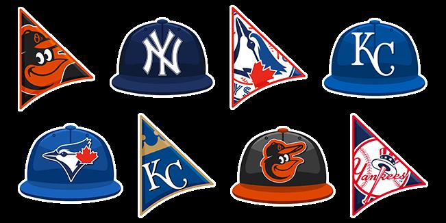 MLB Teams cursor collection