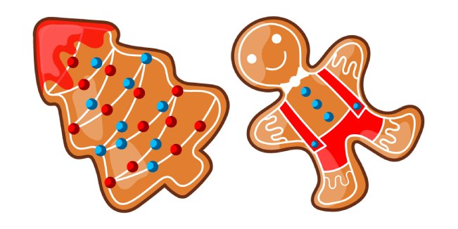 Christmas Gingerbread Cursor