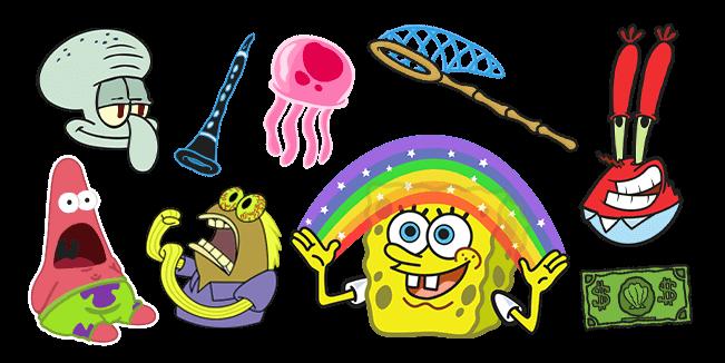 SpongeBob cursor collection