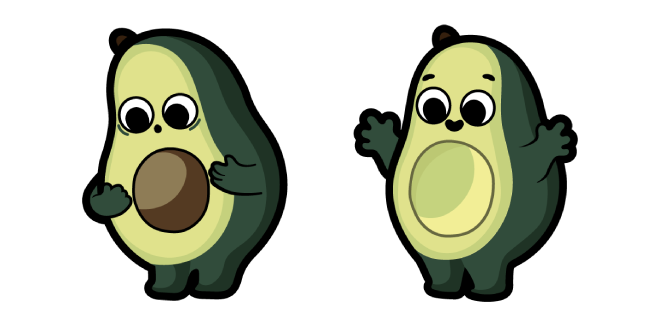Cute Avocado