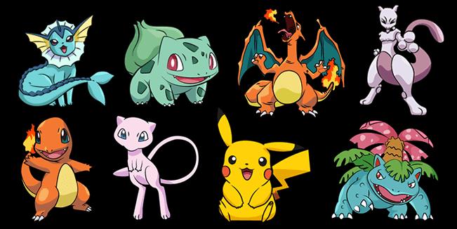 Pokemon cursor collection