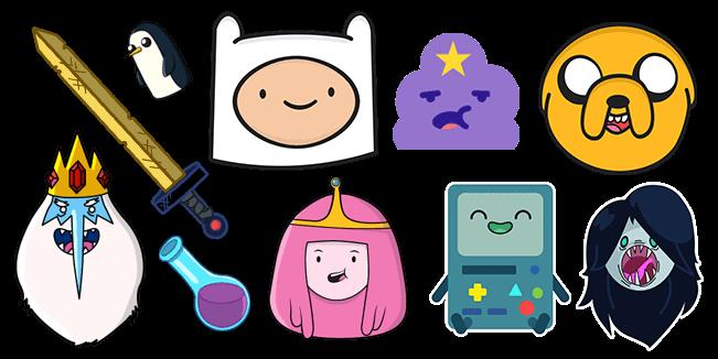 Adventure Time cursor collection