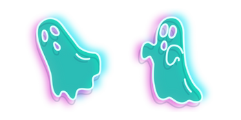 Turquoise Ghost Neon