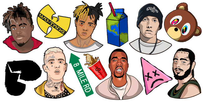 Rappers cursor collection