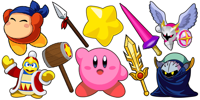Kirby cursor collection