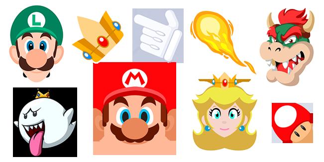 Super Mario cursor collection