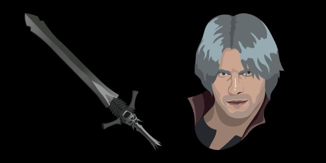 Devil May Cry 5 Dante Rebellion Sword Cursor