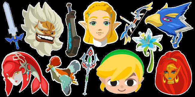 The Legend of Zelda cursor collection