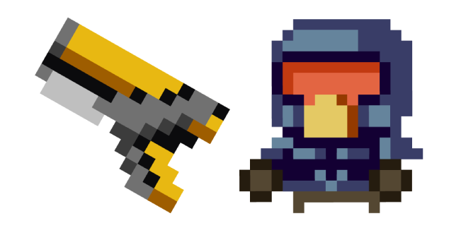 Enter the Gungeon Marine Sidearm Cursor