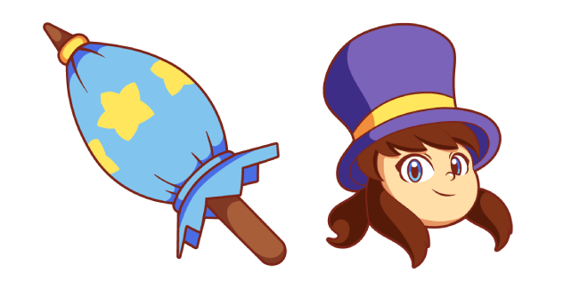 A Hat in Time Hat Kid Cursor