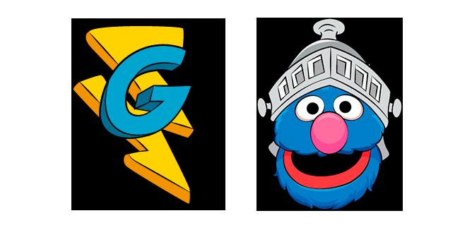 Sesame Street Super Grover Cursor