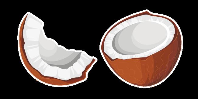Brown Coconut Cursor