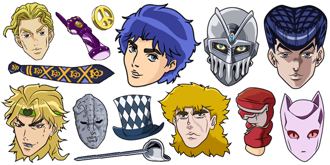 JoJo's Bizarre Adventure cursor collection