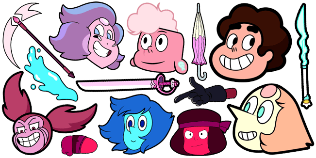 Steven Universe cursor collection