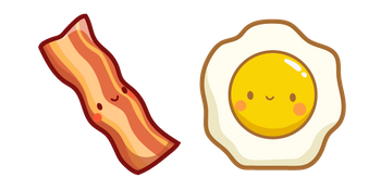 Cute Bacon and Egg
