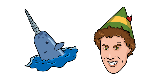 Elf and Mr Narwhal Cursor