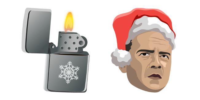 Die Hard Christmas McClane and Lighter Cursor