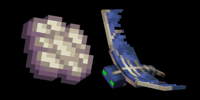 Minecraft Phantom Membrane and Phantom Cursor