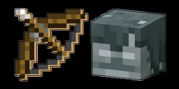 Minecraft Bow and Stray