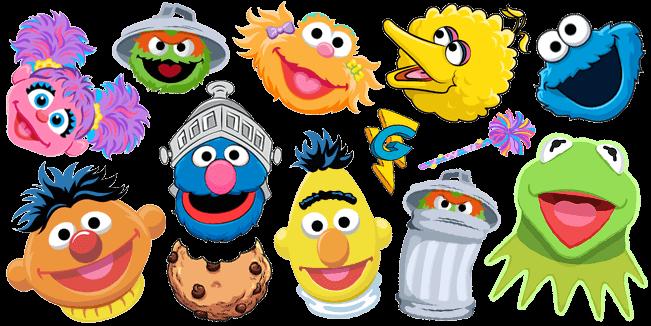 Sesame Street cursor collection