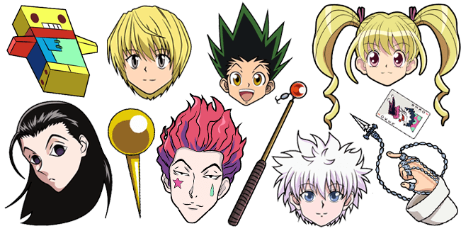 Hunter x Hunter cursor collection