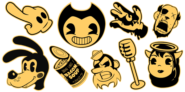 Bendy and the Ink Machine cursor collection