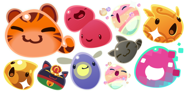 Slime Rancher cursor collection
