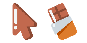 Minimal Chocolate Bar Cursor