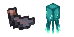 Minecraft Squid and Ink Sac
