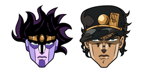 JoJo's Bizarre Adventure Jotaro Kujo and Star Platinum