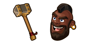Clash of Clans Hog Rider and Hammer
