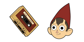 Over The Garden Wall Wirt and Cassette Cursor