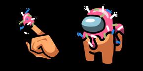 Among Us Donut Character Cursor