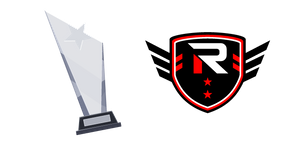 Esports Rise Logo and Winner's Cup Cursor