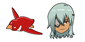 Inazuma Eleven Sakuma Jirou and Koutei Penguin 1gou Cursor
