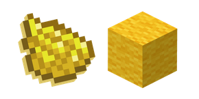 Minecraft Yellow Dye and Wool