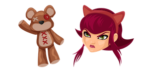 League of Legends Annie and Tibbers Cursor