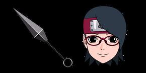 Naruto Sarada Uchiha and Shuriken