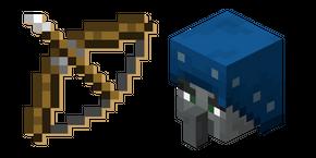 Minecraft Bow and Illusioner