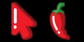 Minimal Chili Pepper Cursor