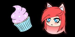 Gacha Life FlashyKlau and Cupcake Cursor
