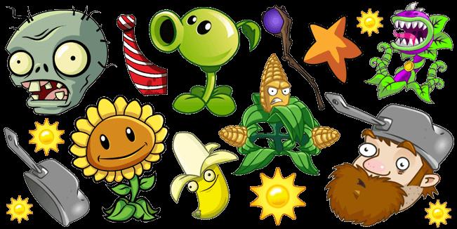 Plants vs. Zombies cursor collection