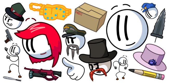 Henry Stickmin cursor collection