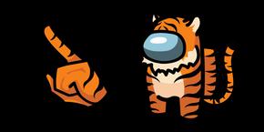 Among Us Tiger Character Cursor