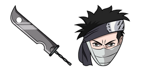 Naruto Zabuza Momochi and Sword