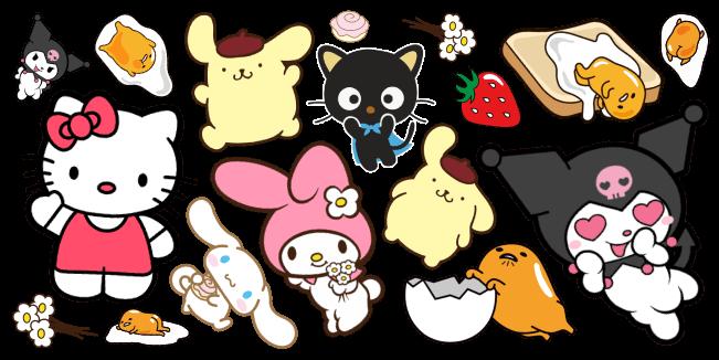Sanrio cursor collection
